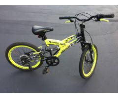 20 in Boys Avigo Air Flex Dual Suspension Bike