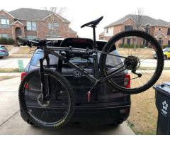 Nice Sturdy YAKIMA 3 bikes Fullback Trunk Mount Bike Rack for sale